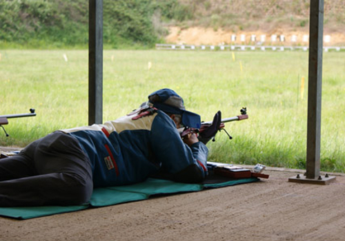 Prone shooting